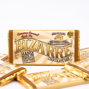 Caramel Apple Pie Bizarre® Bar 100g - Milk chocolate, cinnamon caramel apple pie filling
