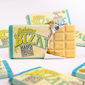 Bahama® Bizarre bar 100g - White chocolate, rum and coconut caramel centre