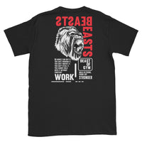 Can't Buy Work (Back print) T-Shirt