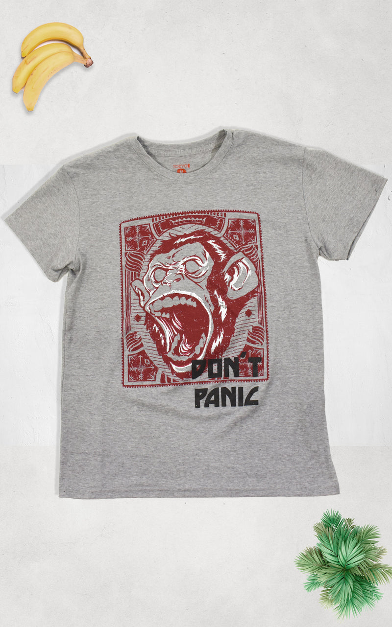 Playera Simio Don't Panic