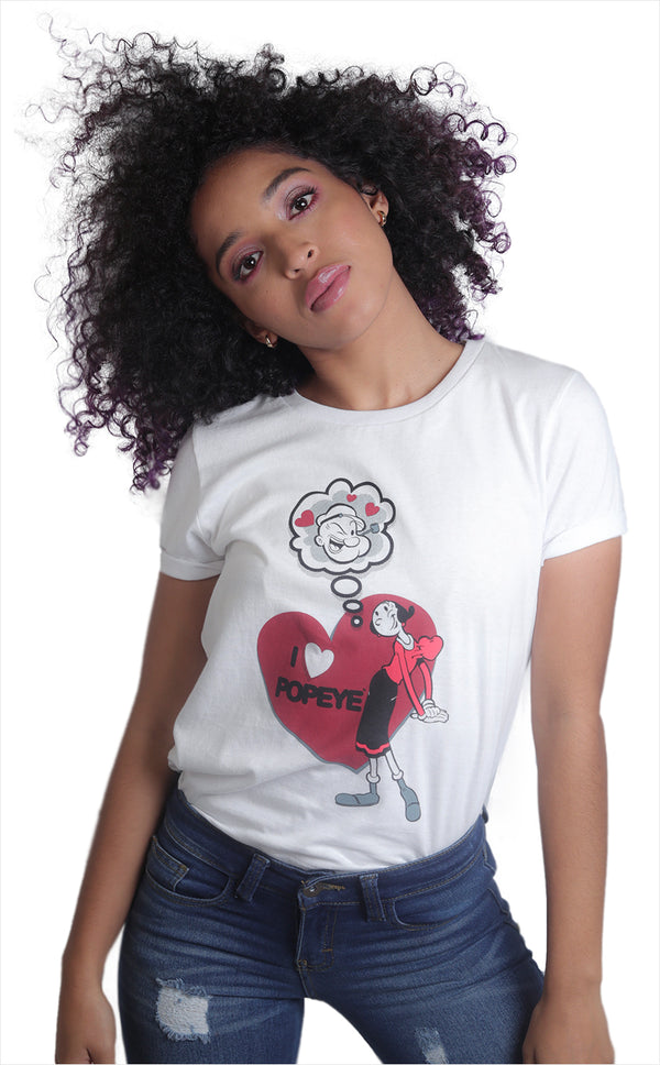 Playera I Love Popeye