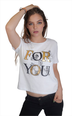 Playera Sesamo For You