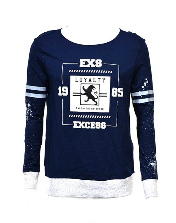 Playera estampada Exs 1985