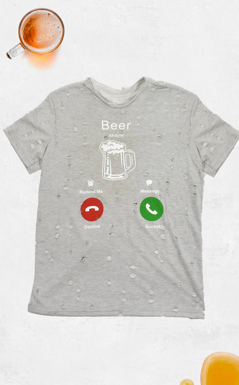 Playera Destruccion Beer