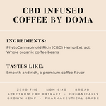 The Chronic: CBD Infused Coffee 500MG - The Herbalist Bros