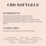 CBD Softgels 100mg - 10ct.