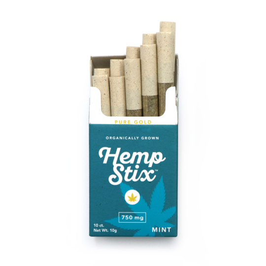 "750MG HEMP STIX ""MINT"""