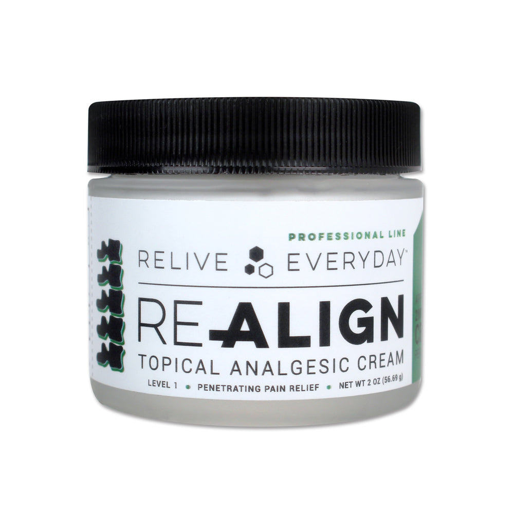 RE-ALIGN Topical Analgesic With CBD, Menthol & Camphor