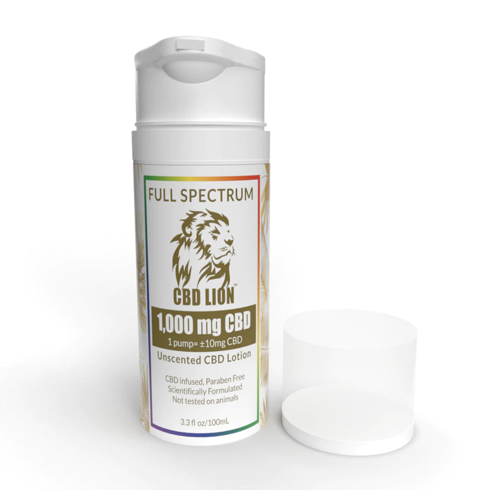 Full Spectrum CBD Lotion 500mg/1000mg