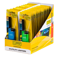 Clipper Easylight Utility Lighter - Assorted Colours