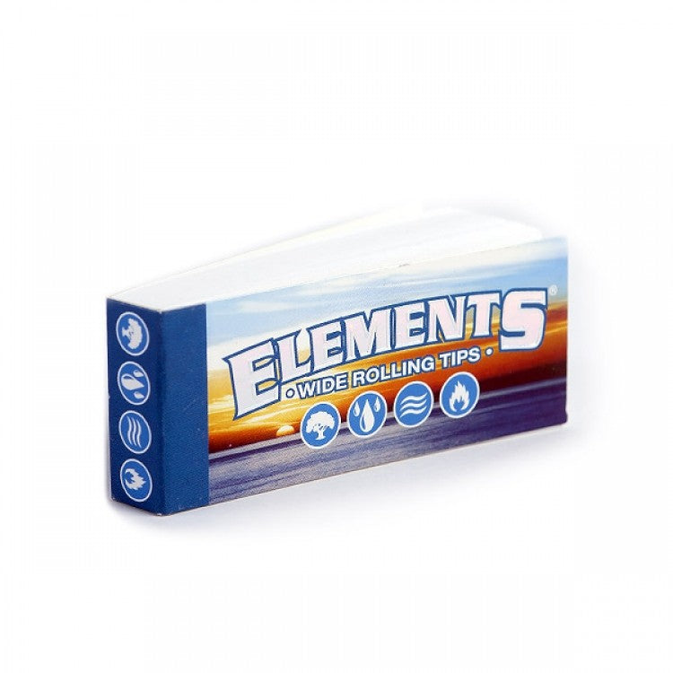 Elements Wide Cigarette Rolling Tips