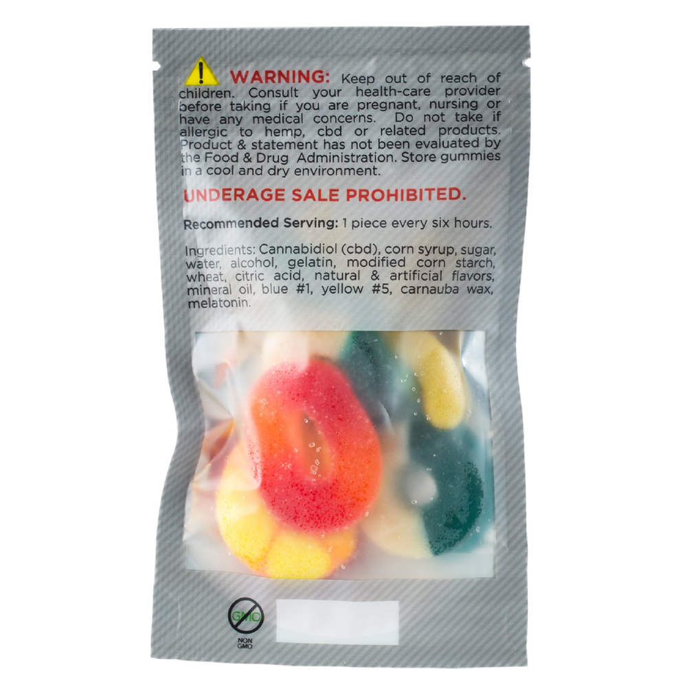 Cool Gummy CBD Edibles 180mg