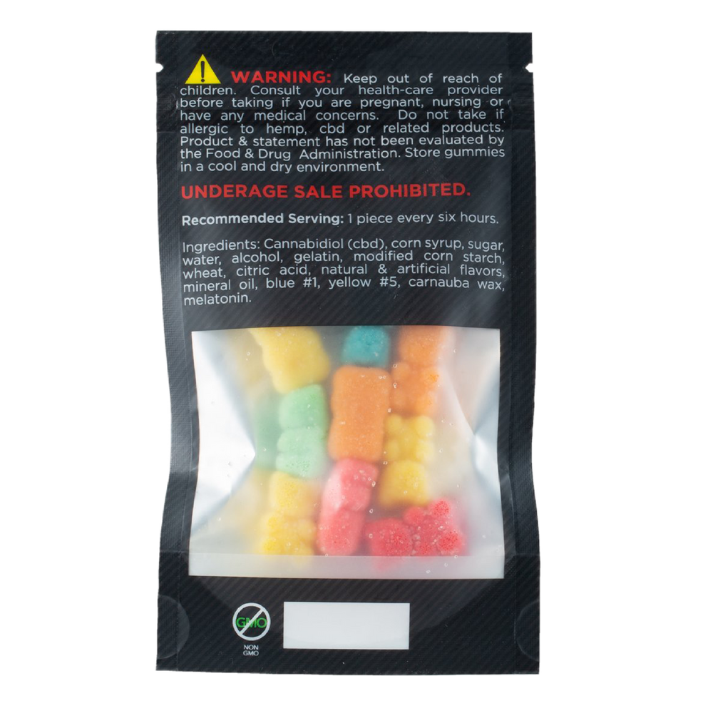 Smooth Gummy CBD Edibles 180mg