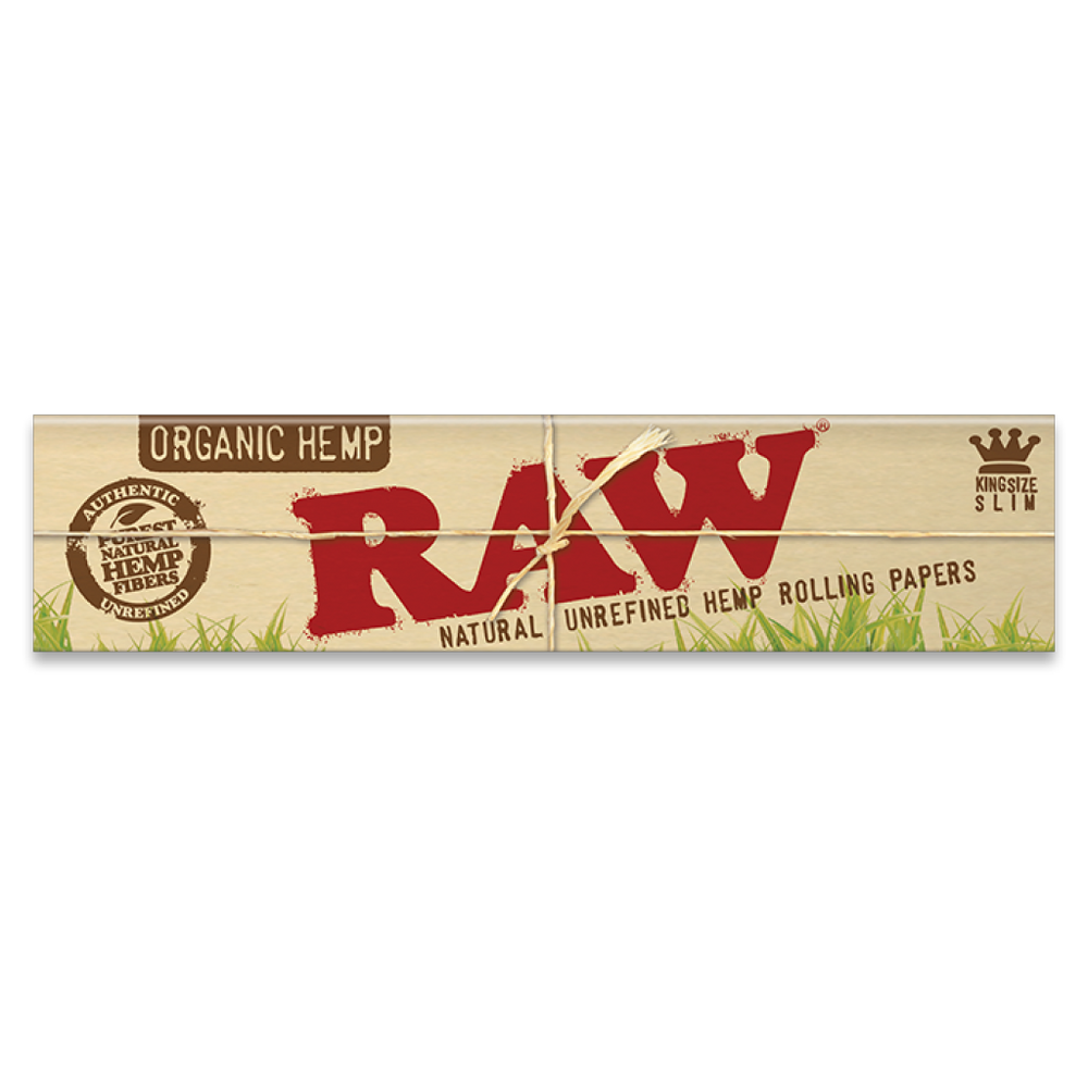 RAW Organic Hemp Kingsize Slim