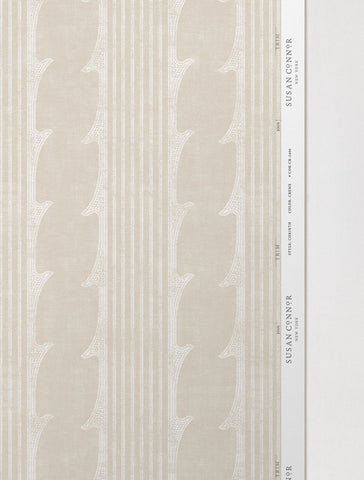 Corinth Wallpaper / Creme