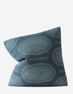 Kamba Pillow / Indigo Duo