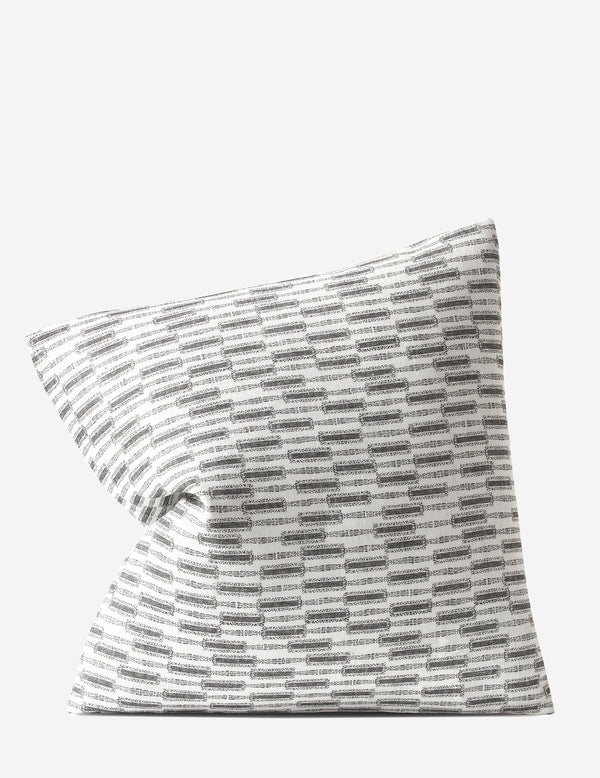 Lacuna Pillow / Kohl Oyster