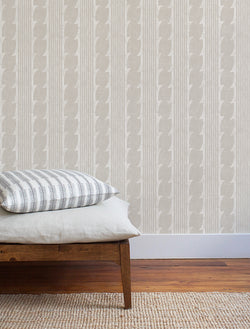 Corinth Wallpaper / Flax