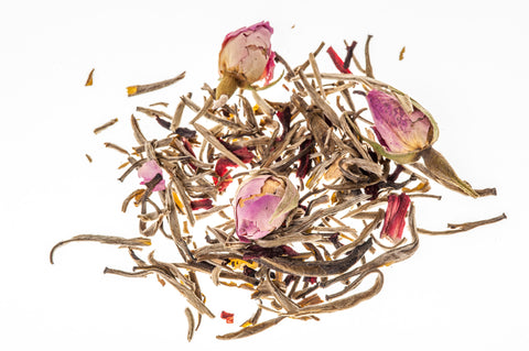 Our Pink Pride tea with hibiscus and rose