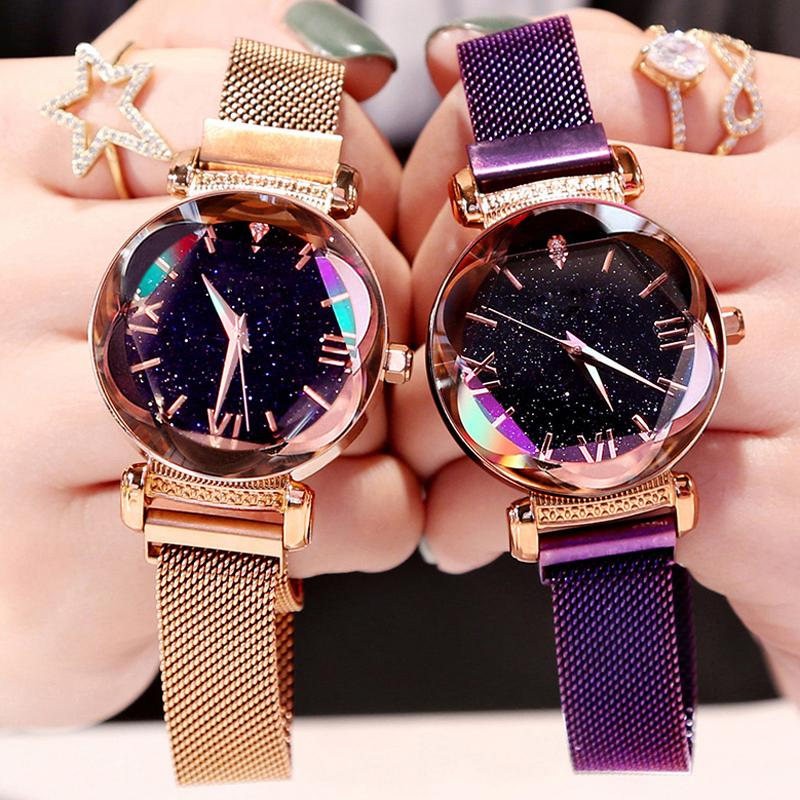 Luxury Starry Wristwatch for Ladies