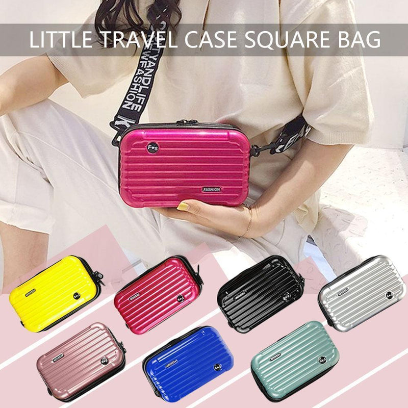 Mini size travel case shape square hand bag