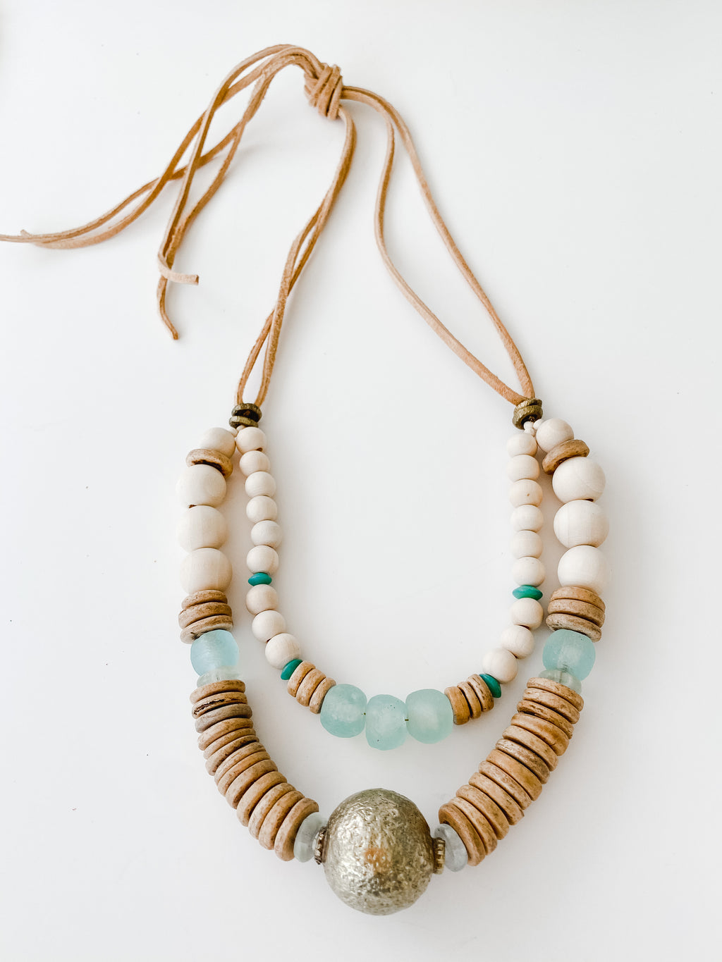 Clyda Necklace -Double Fall Harvest