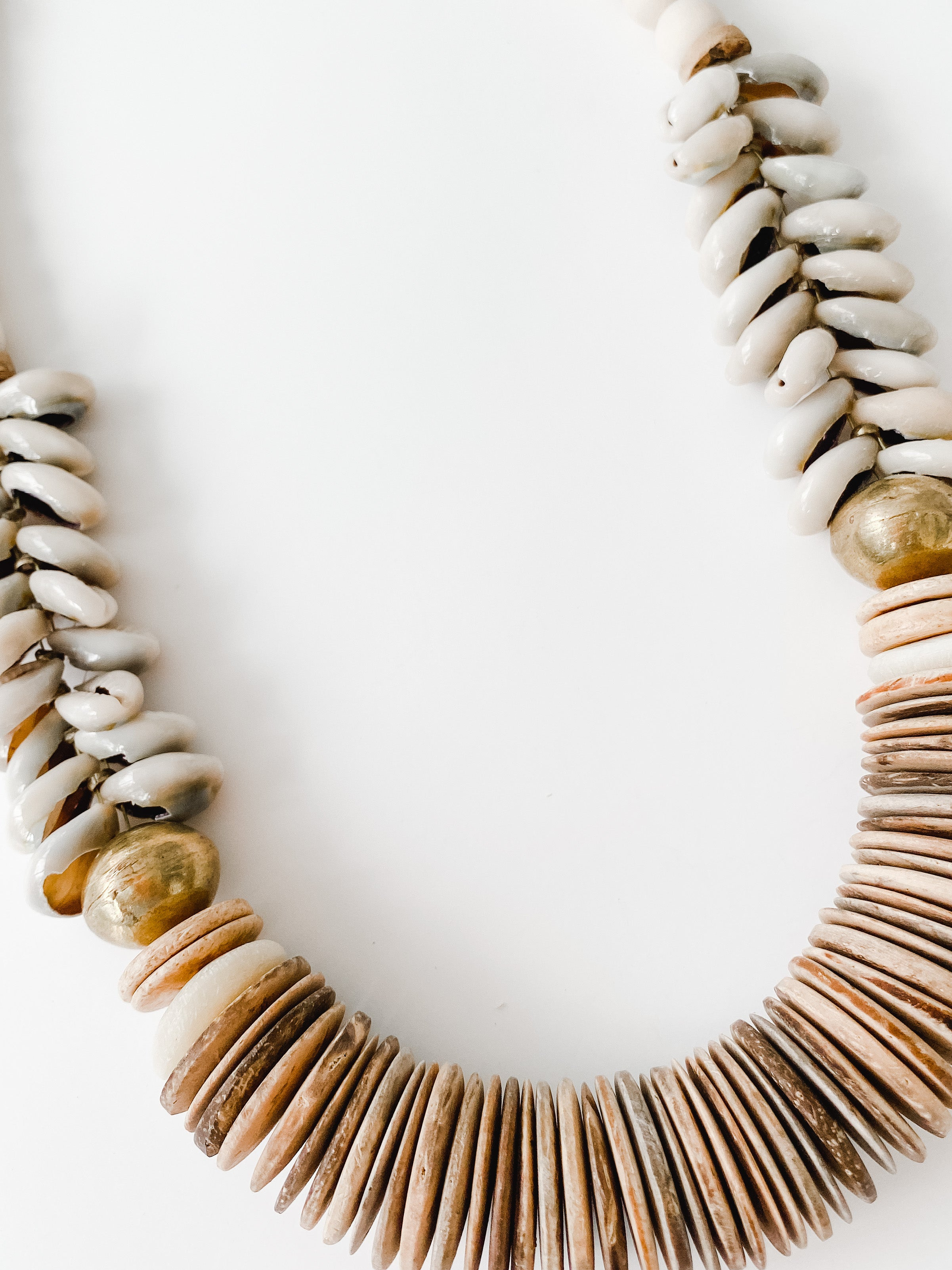 Sea to Sand - Fall Neutral Cowrie Necklace