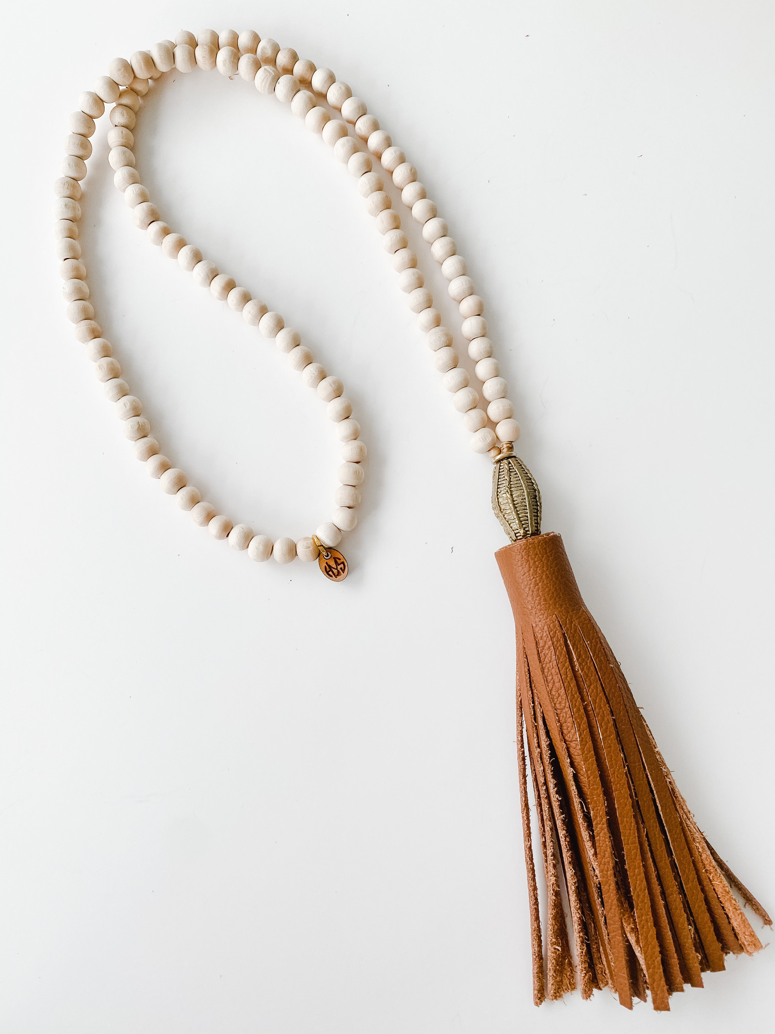 Fall Leather Tassel - Tobacco | Natural