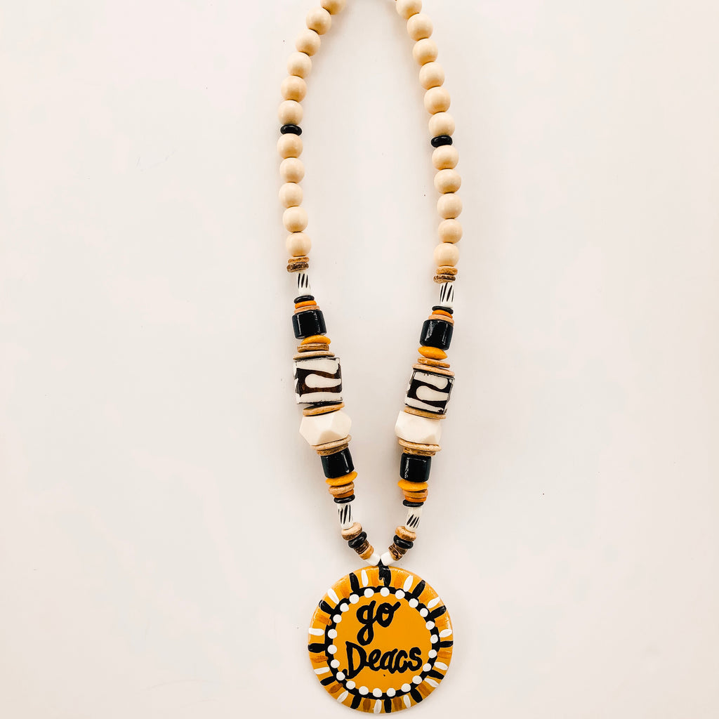 Game Day Tailgate Azalea Necklace - Go Deacs