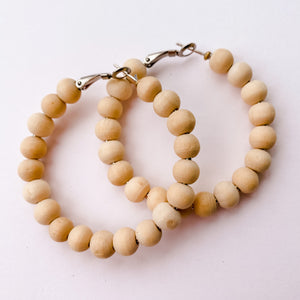 Sea to Sand - Natural Beaded Earrings