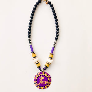Game Day Tailgate Azalea Necklace - Go Pirates