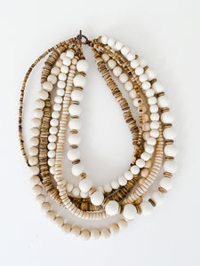 Sea to Sand Multi Strand Necklace - Everyday Natural