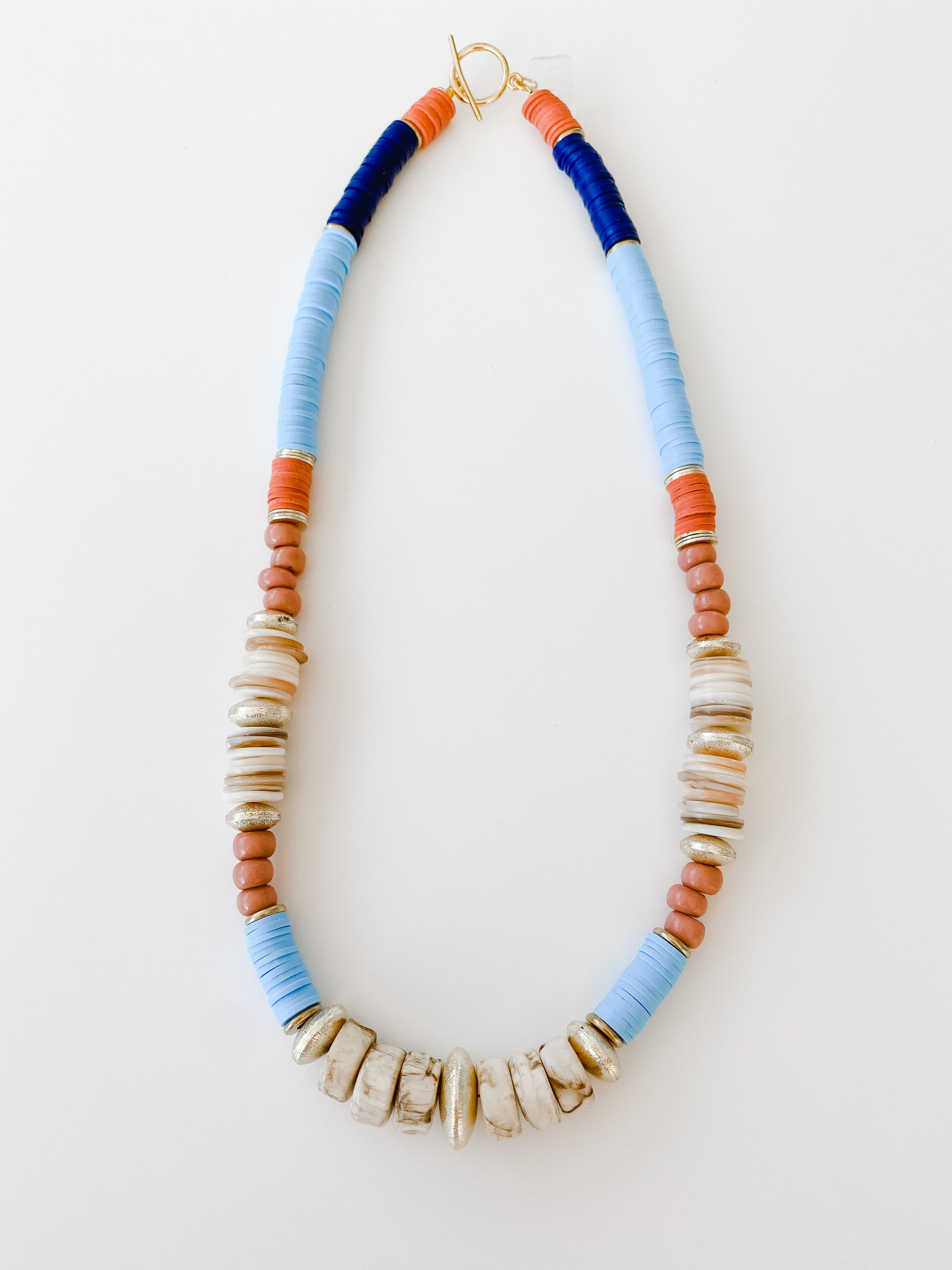 Born to be Wild -  Fall Multi Color Necklace