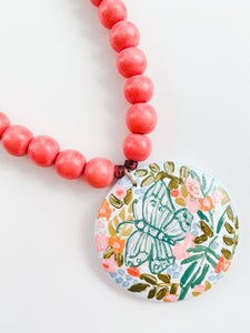 Special Mother's Day Azalea Necklace - Butterfly Edition