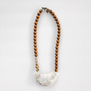 Sea to Sand Necklace - Simple Oyster  - A Fall Favorite