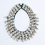 Sea to Sand Necklace - Cowrie Bib Necklace