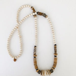Allie Necklace | Fall Neutrals