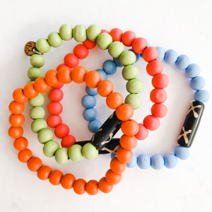 Born to be Wild - Color Splash Bracelet Stacks