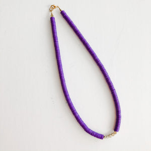 Born to be Wild - Katie Necklace in purple