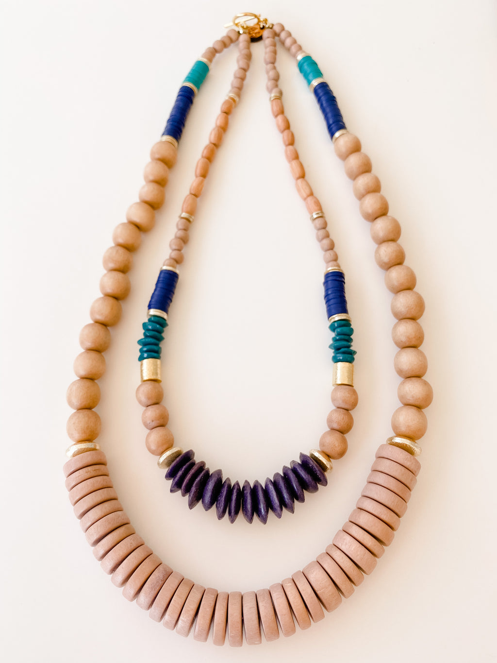 Born to be Wild -  Fall Multi Strand Necklace