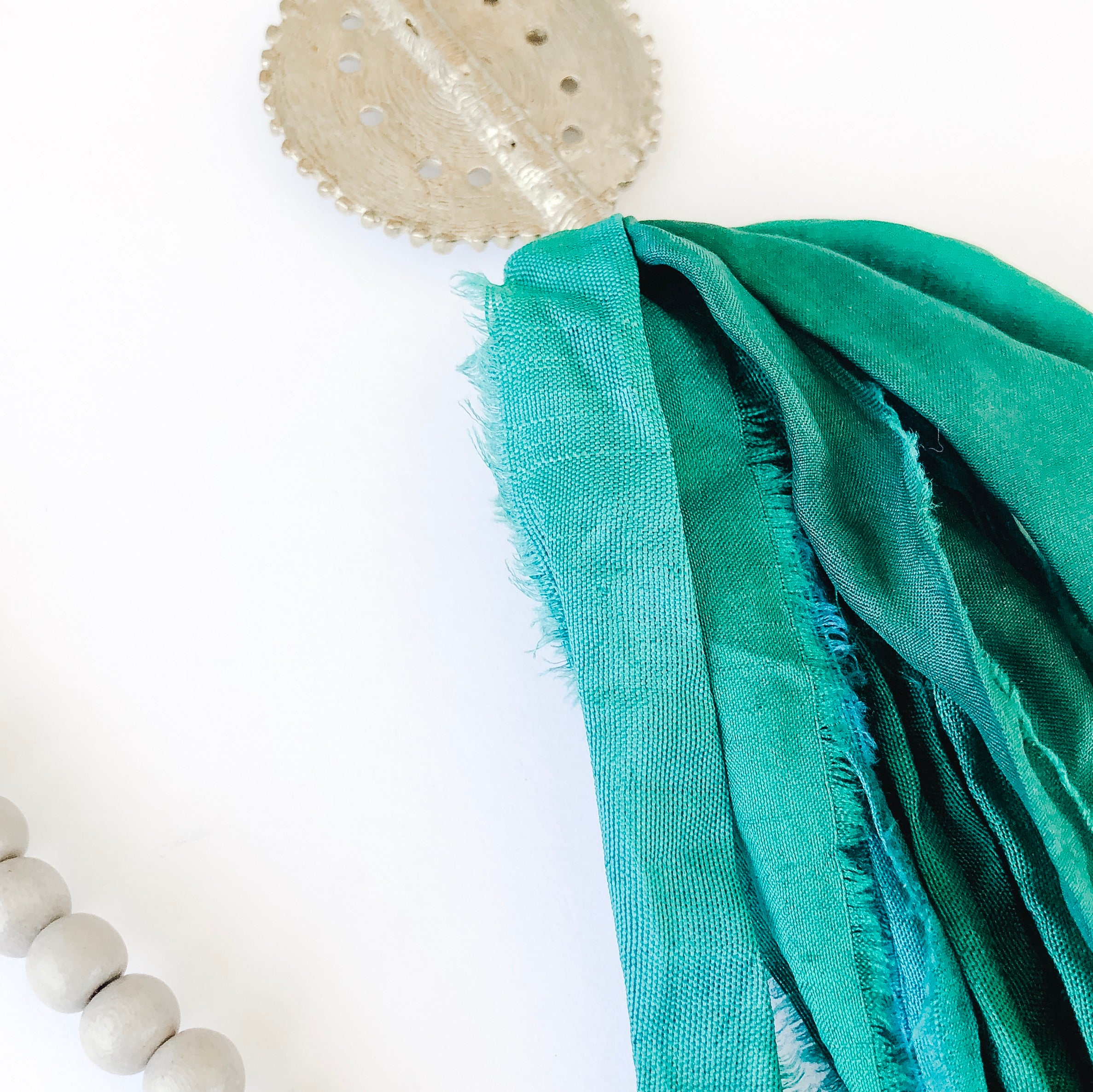 Sari not Sari Necklace | Emerald Silks