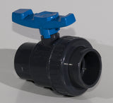 Single union valve 110mm
