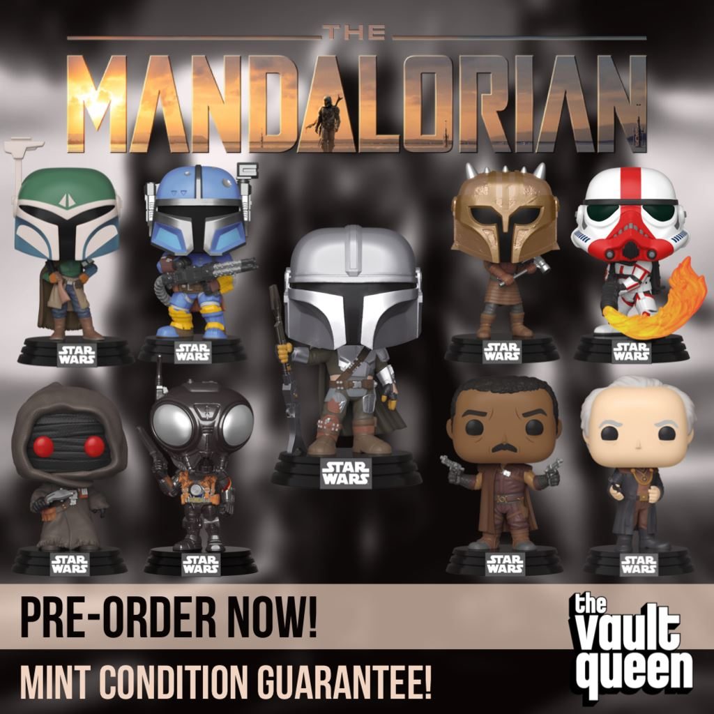 COMING SOON - The Mandalorian Wave 2 Funko Pops!