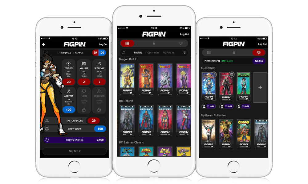 FiGPiN App Screenshot Image