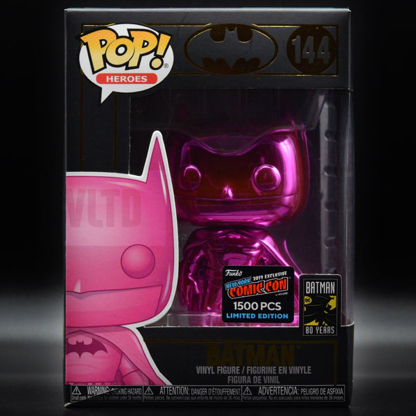 2-POP MYSTERY BOX: October Grail Hunt [SHIPS 10/20] Includes 2 Funko POP Figures! Prizes include Pink Chrome Batman, Flocked Tony the Tiger, Flocked Bigfoot, Social Media Freddy, SDCC Bakugo & many more! Mystery Box VLTD