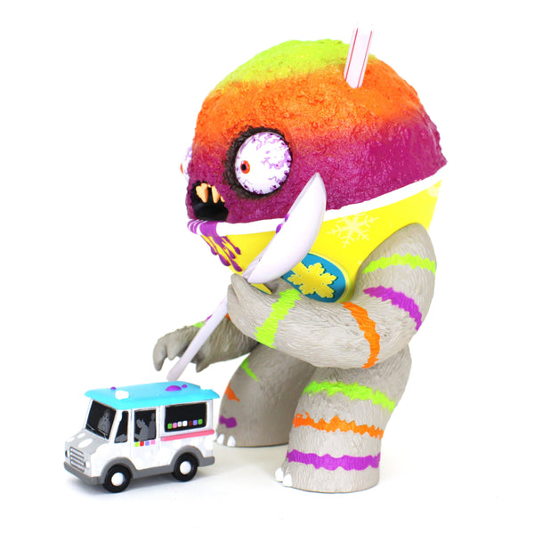 Abominable Snow Cone TROPICAL CYCLONE by Jason Limon x Martian Toys Abominable Snowcone Martian Toys