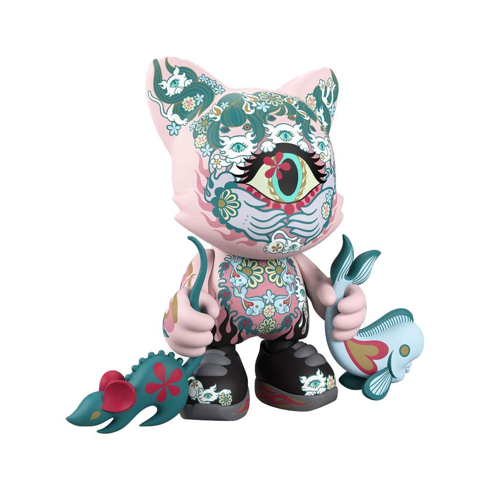 Ailurophile SuperJanky by Junko Mizuno & Superplastic [LE666] 8-inch Vinyl Toy Superplastic