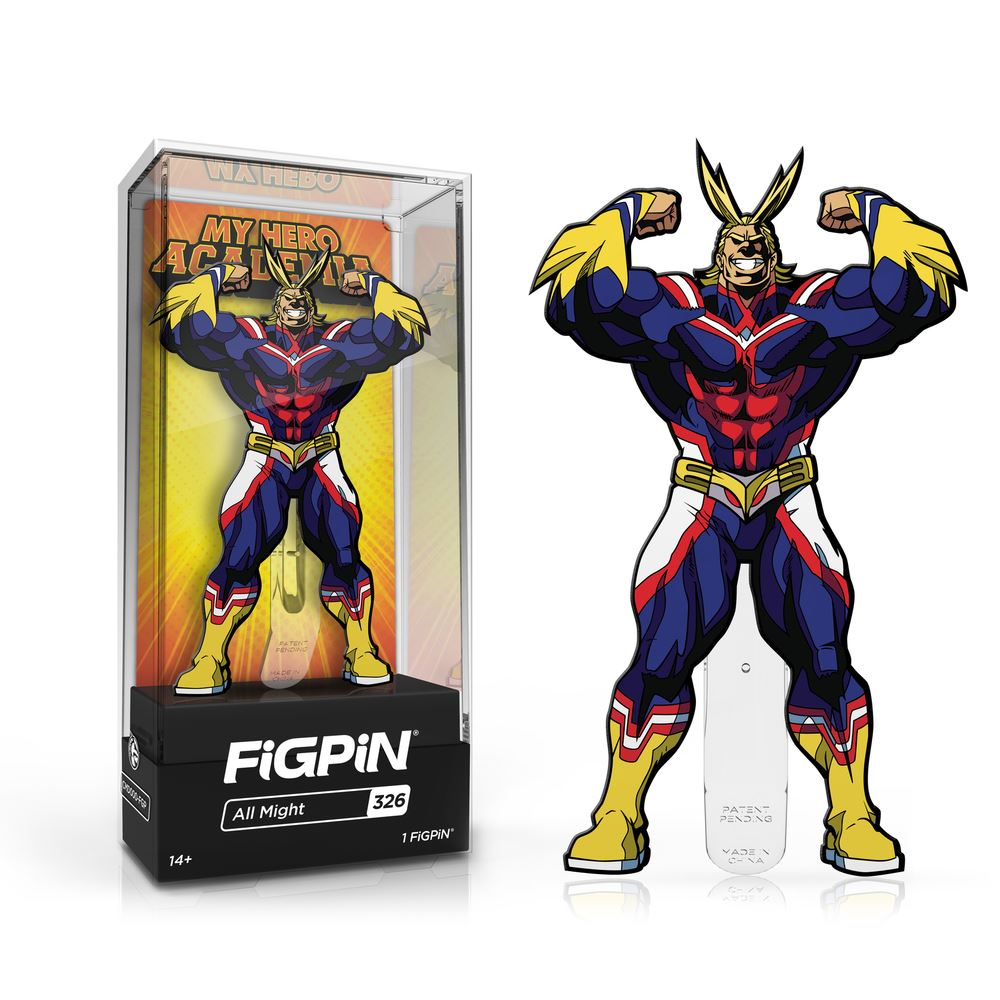 All Might #326 My Hero Academia FiGPiN Classic FiGPiN Classic FiGPiN