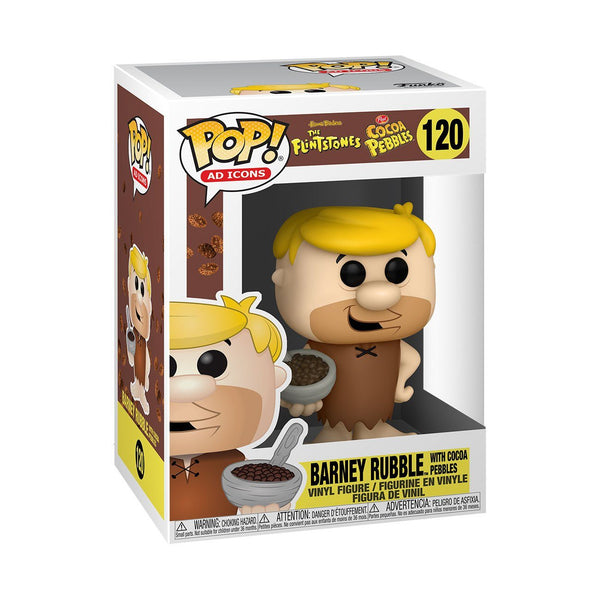 Barney with Cereal #120 Cocoa Pebbles Funko POP! Ad Icons [PRE-ORDER FOR JAN 2021* DELIVERY] POP! Funko