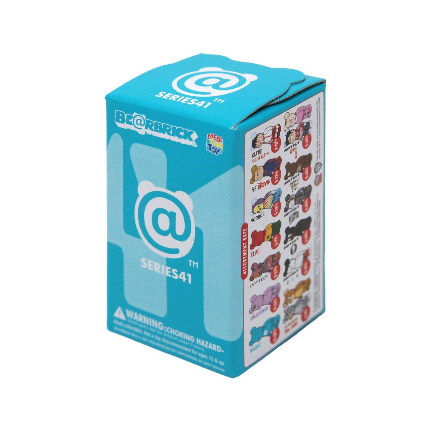 BE@RBRICK Series 41 Blind Box by Medicom Toy 100% Bearbrick Blind Box Medicom Toy Full Case of 24